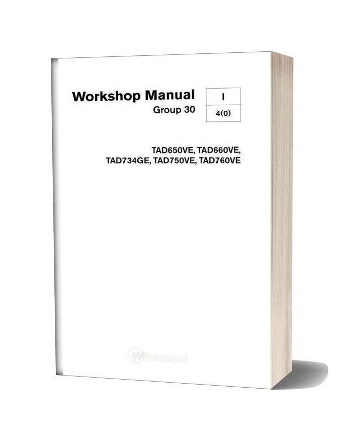 Volvo Engine Workshop Manual Group 30 Tad650ve Tad760ve