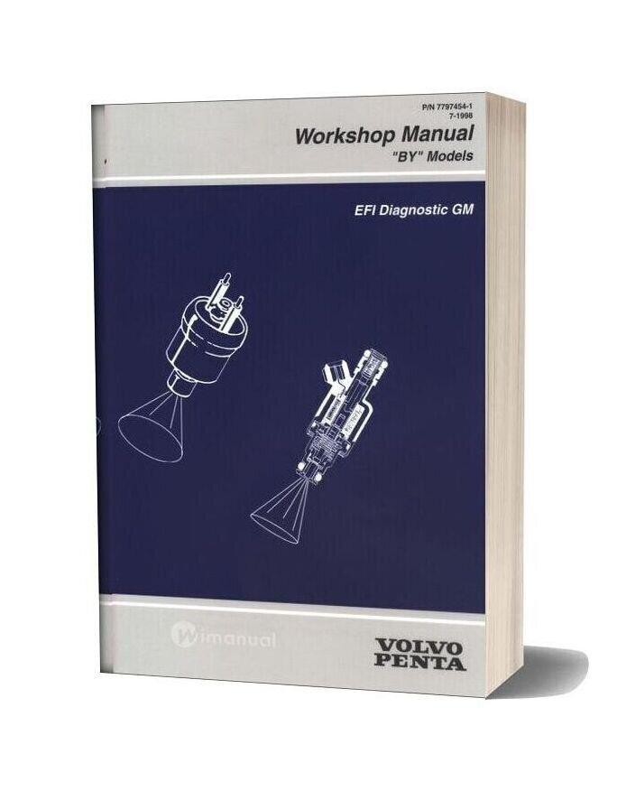 Volvo Penta Efi Diagnostic Gm Workshop Manual