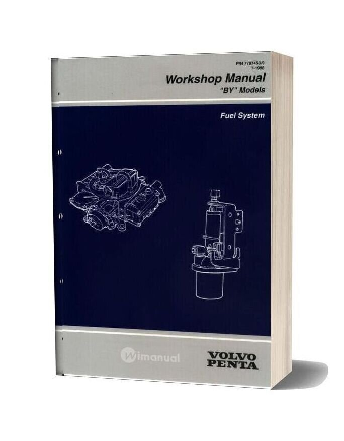 Volvo Penta Fuel System Workshop Manual