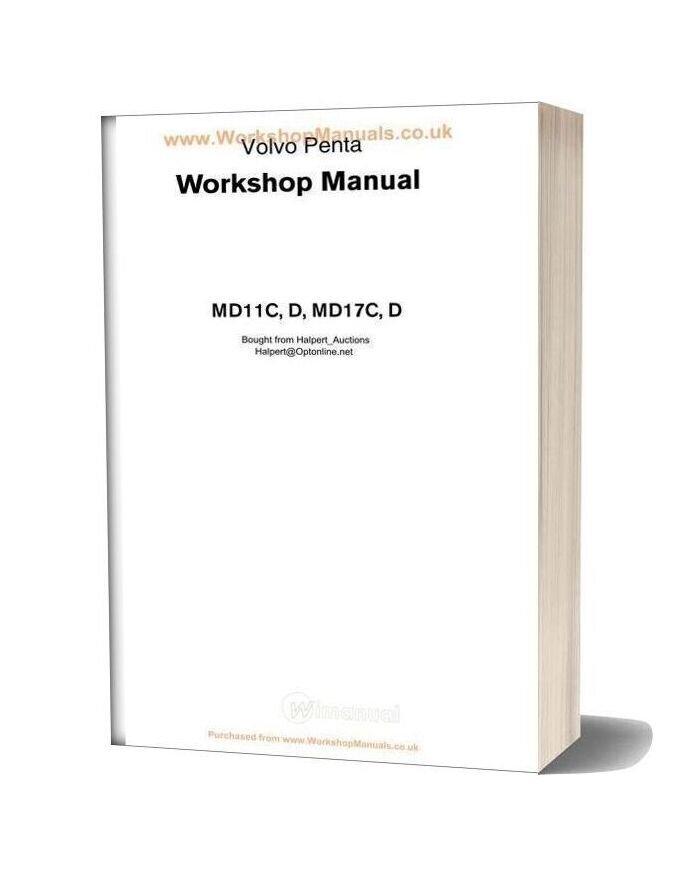Volvo Penta Md11c 17c Workshop