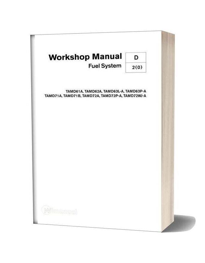 Volvo Penta Workshop Manual Fuel System