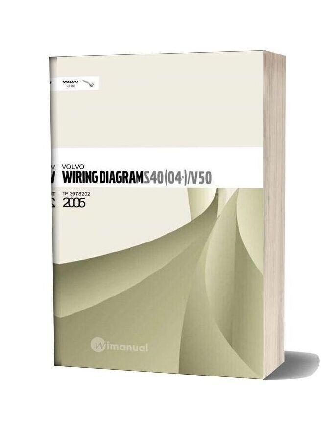 Volvo S40 04 V50 2005 Wiring Diagram on data sheet pdf, battery diagram pdf, power pdf, plumbing diagram pdf, body diagram pdf, welding diagram pdf,