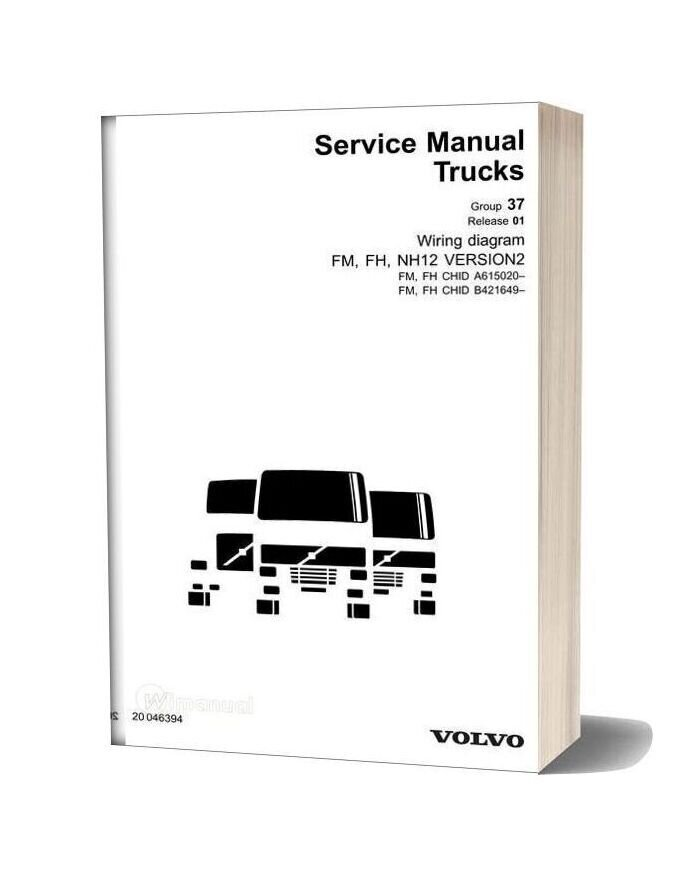 Volvo Service Manual Truck Wiring Diagram Fm Fh Nh12