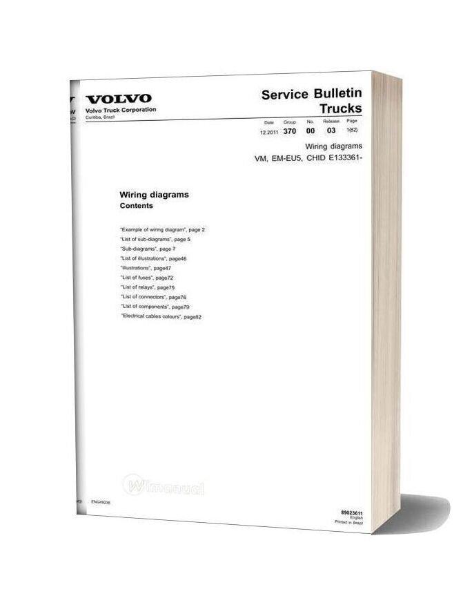 [SCHEMATICS_4LK]  Volvo Truck Vm Em Eu5 Wiring Diagram | Volvo Vnl Fuse Diagram |  | WiManual