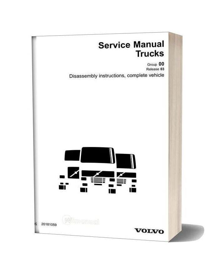 Volvo Trucks Service Manual Trucks Dismantling Manual