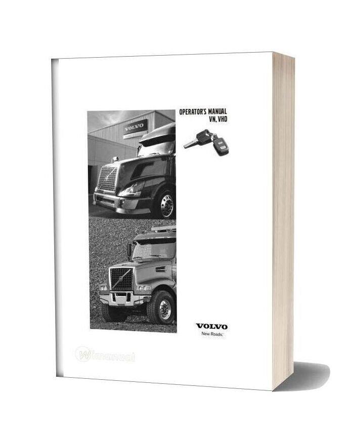 Volvo Vn Vhd Operators Manual