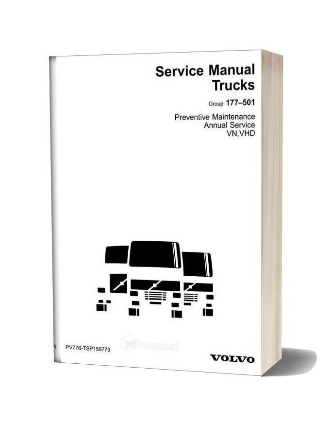 Volvo Vn Vhd Preventive Maintenance Annual Service Manual