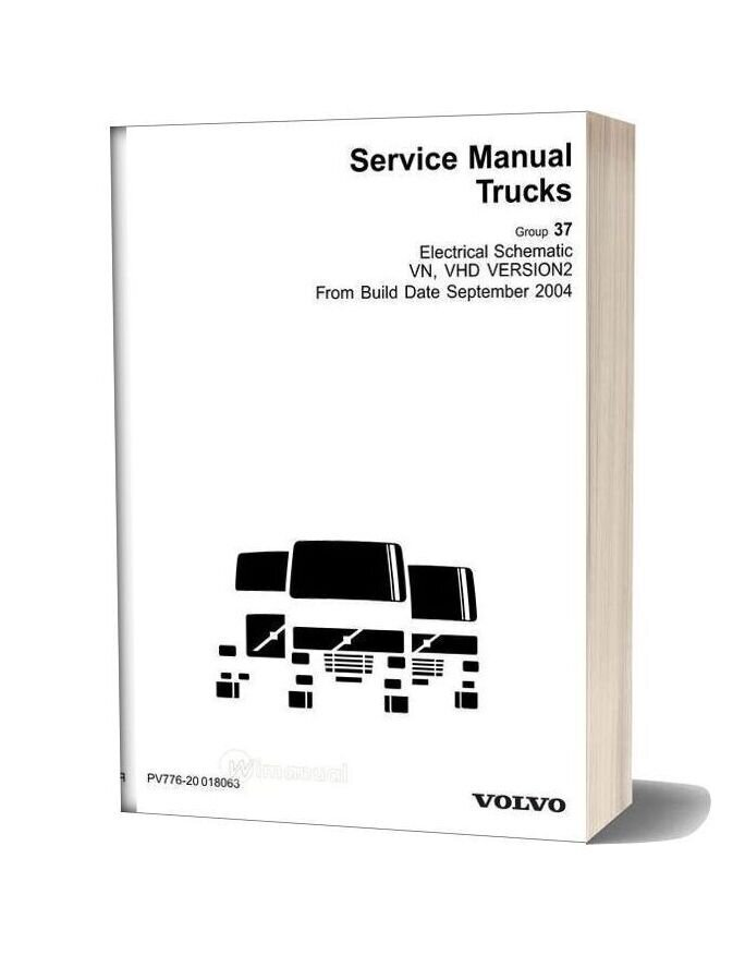 Volvo Vn Vhd Version 2 Electrical Schematic From Build Date 9 04