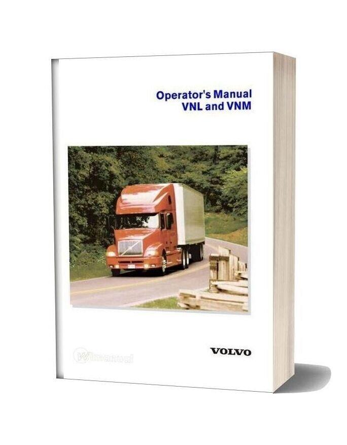 Volvo Vnl Vnm Operators Manual