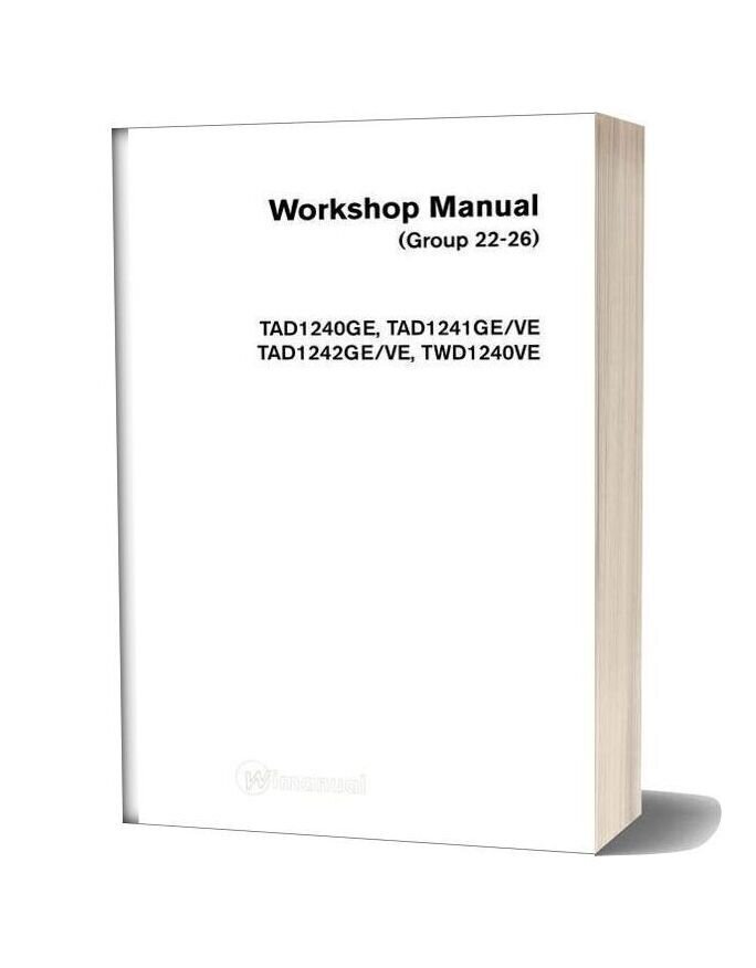 Volvo Workshop Manual G22 26