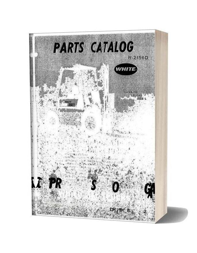 White Fork Lift My40 50 60 70 Fork Lift Trucks Parts Catalog