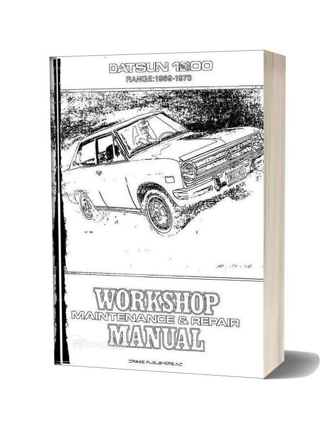 Workshop Manual Datsun 1200 1969 73