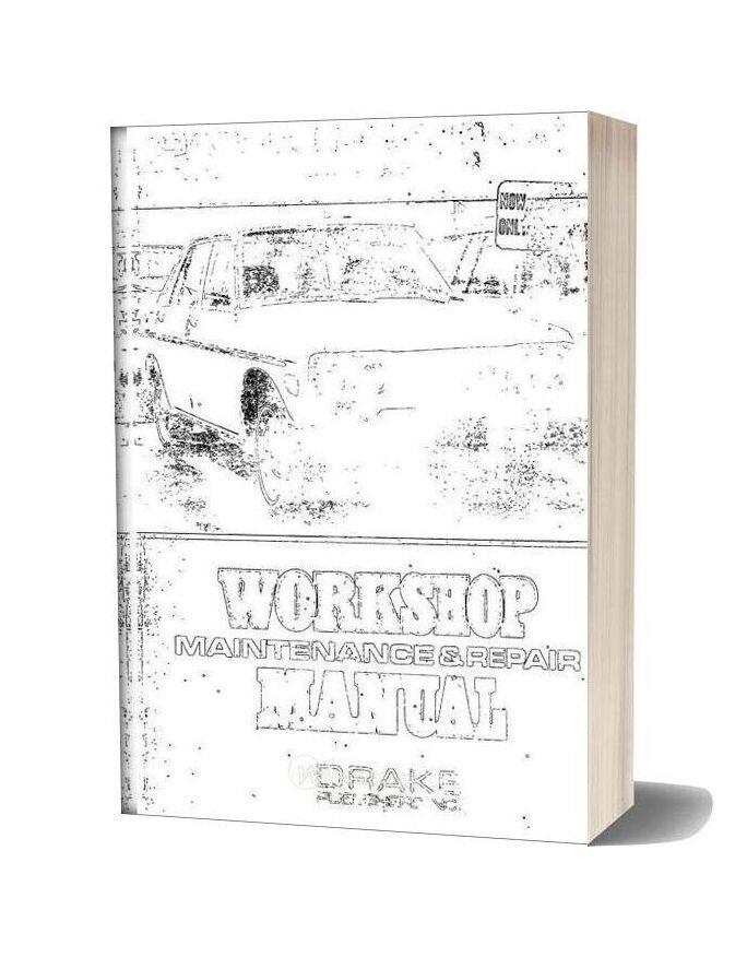 Workshop Manual Datsun 510 Pick Up