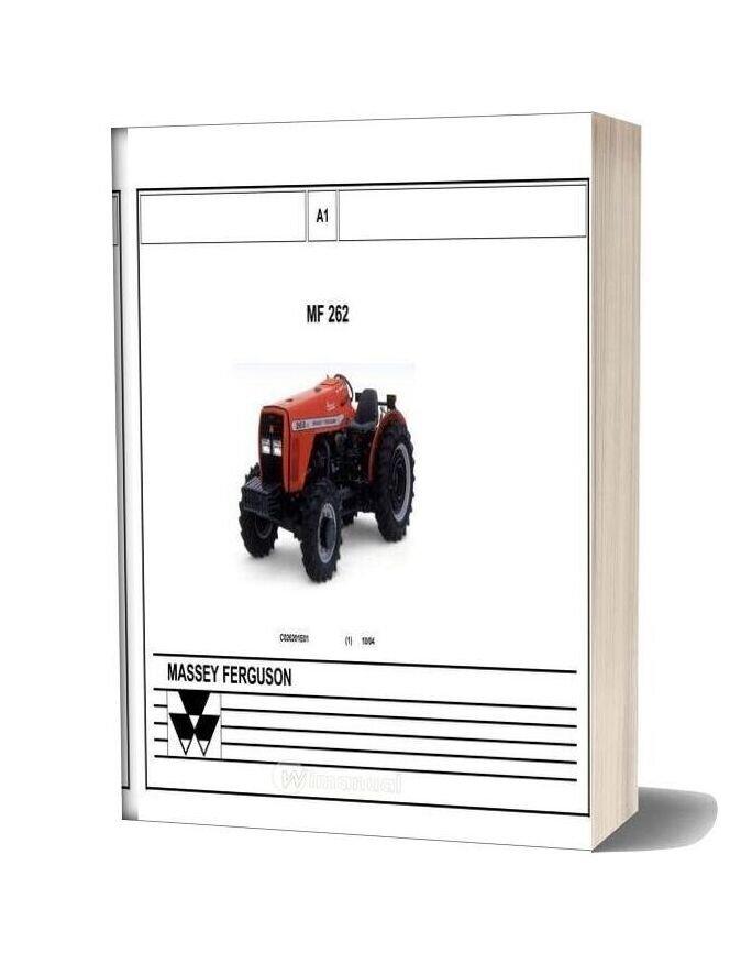 Workshop Manual Tractor Massey Ferguson Mf 262 Multilingual