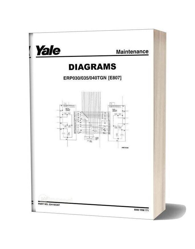 Yale E807 Parts Manual