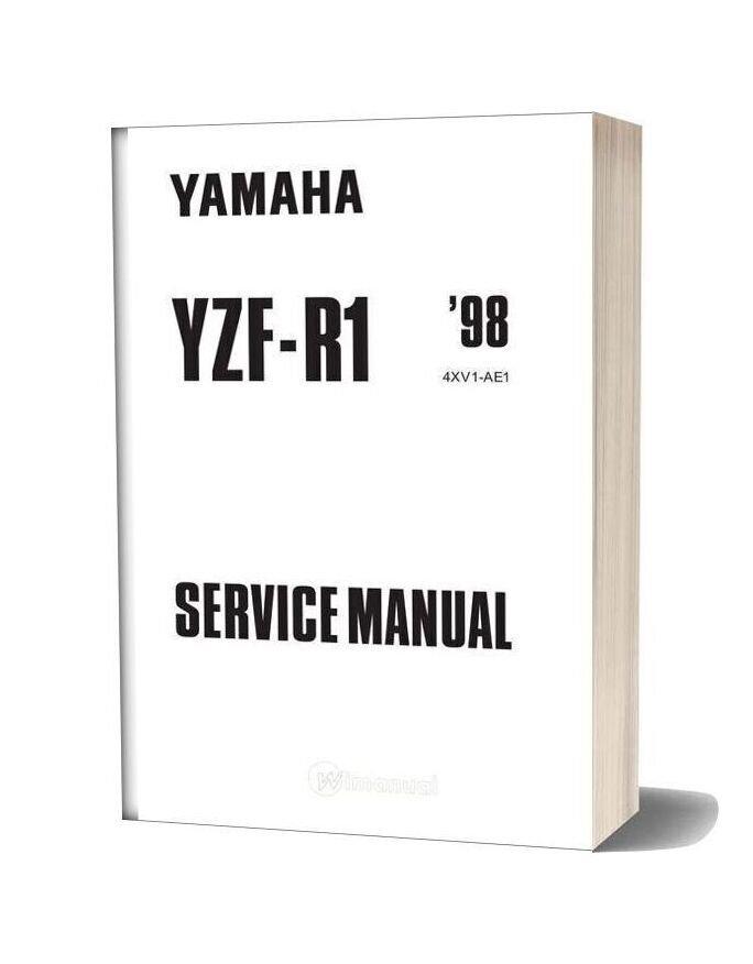 Yamaha 1998 Yzfr1 Servicemanual