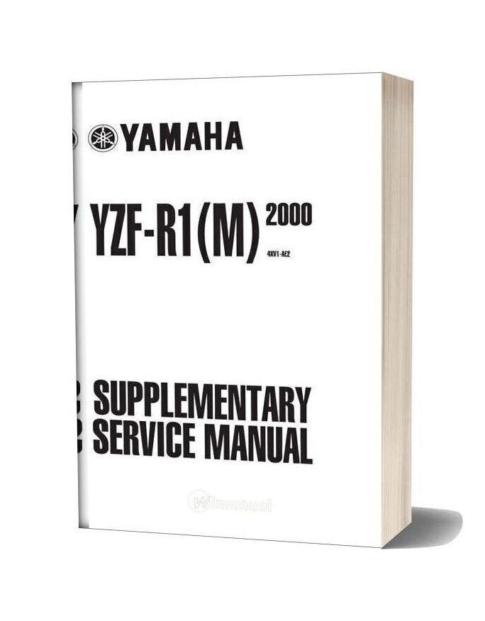 Yamaha 2002 Yzfr1 Servicemanualsuppliment