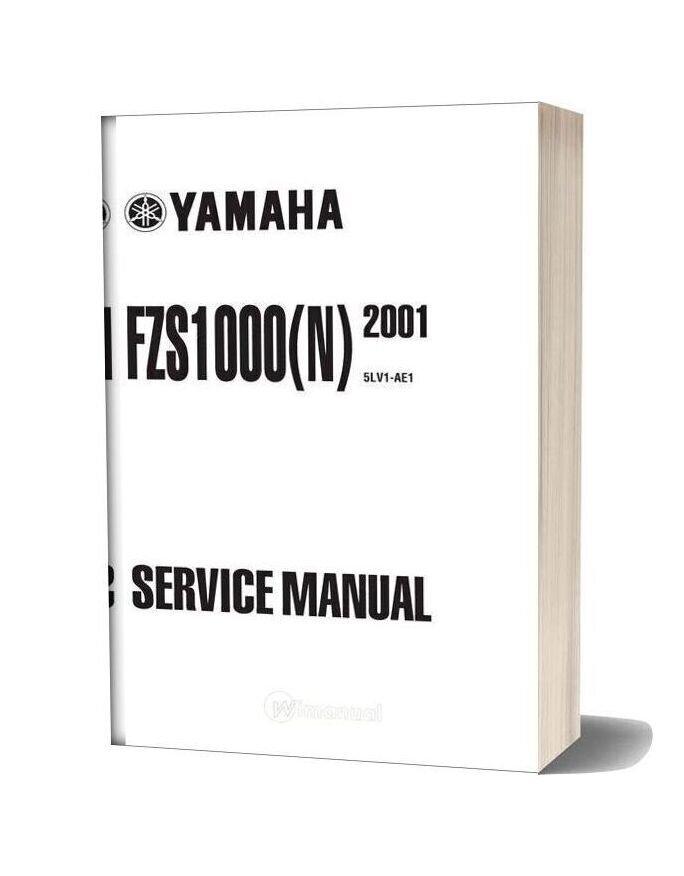Yamaha Fazer Fzs1000 N 01 Service Manual