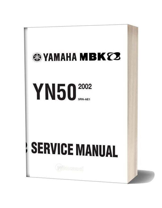 Yamaha Neo S 50 Service Manual 2002