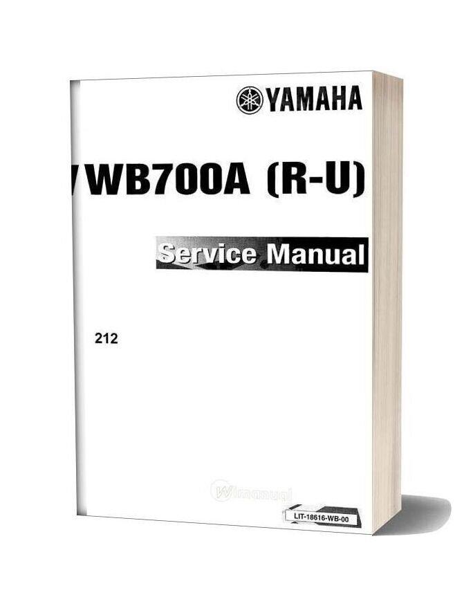Yamaha Service Manual Waveblaster 93 To 96