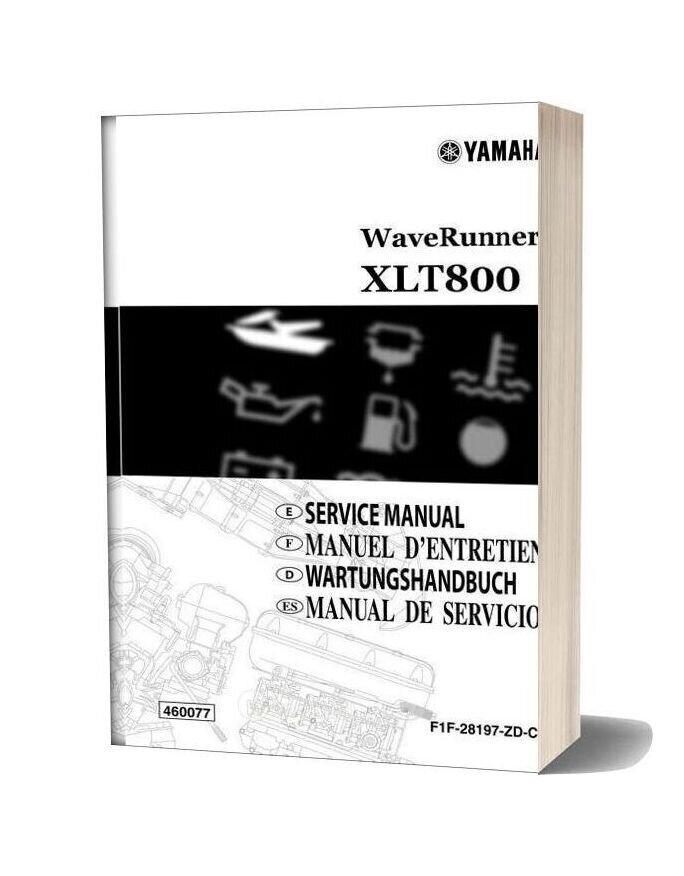 Yamaha Service Manual Xlt800