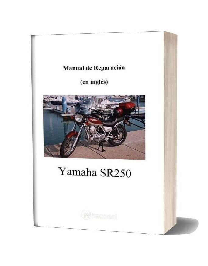 Yamaha Sr250 Repair Manual