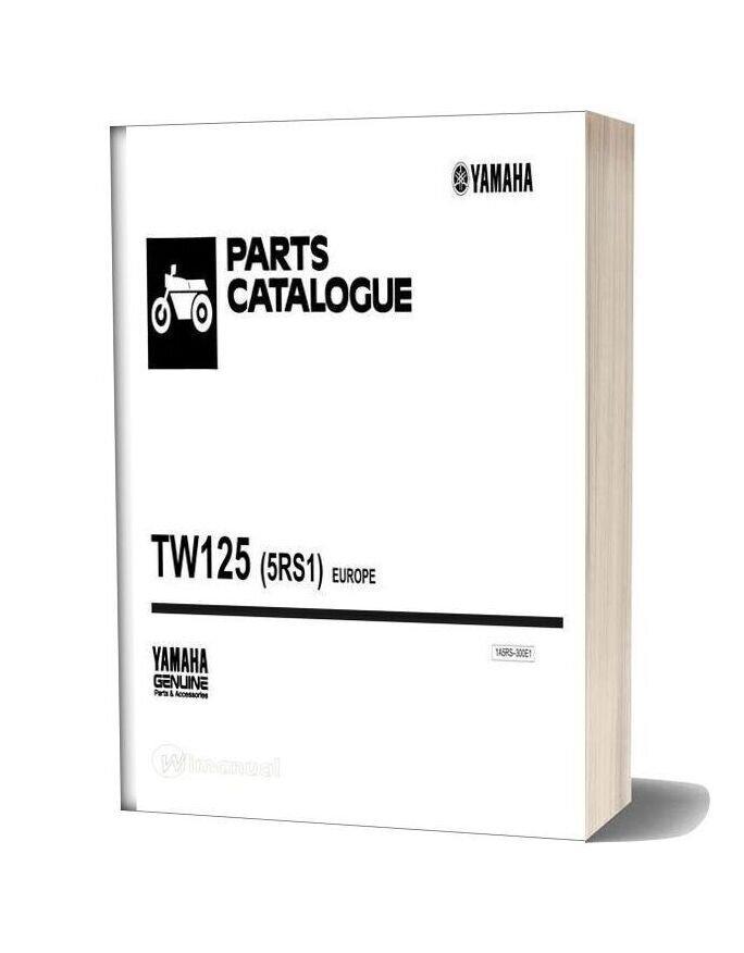 Yamaha Tw125 Parts Catalogue