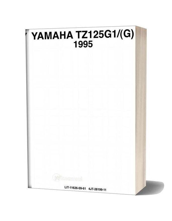 Yamaha Tz 125g1 95 Service Manual