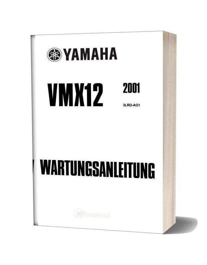 Yamaha Vmax Vmx12 2001 Service Manual (German)