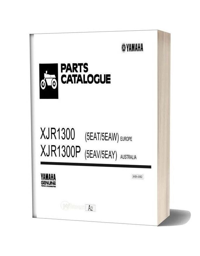 Yamaha Xj1300 Parts Catalogue