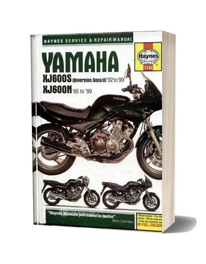 Yamaha Xj600s(92 99) Xj600n(95 99) Service Repair Manual