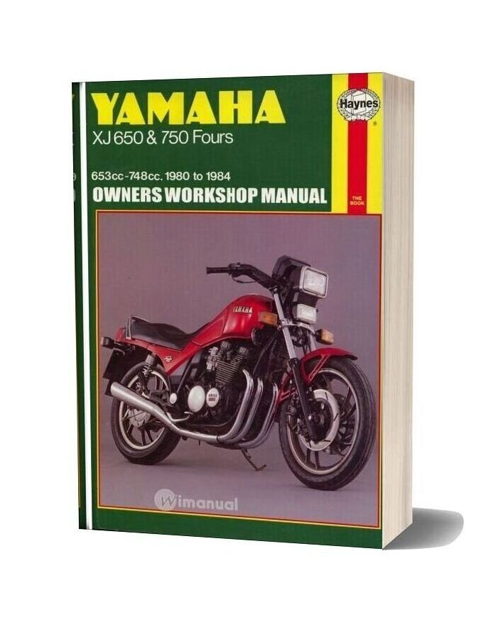 Yamaha Xj650 750 80 84 Service Manual