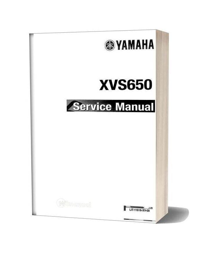 Yamaha Xvs 650 Drag Star 97 Service Manual