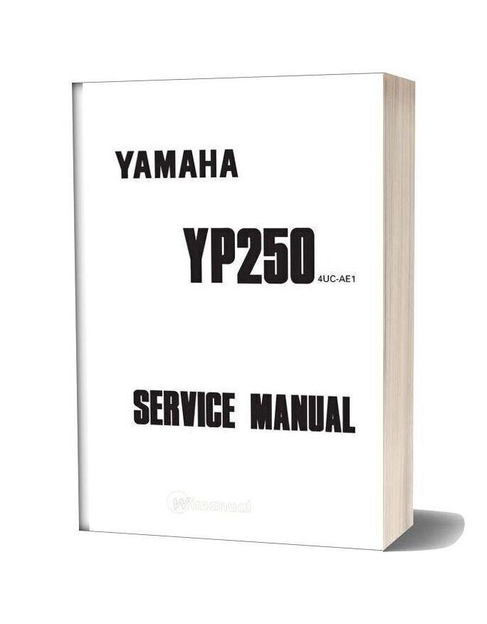 Yamaha Yp250 1995 1999 Service Manual