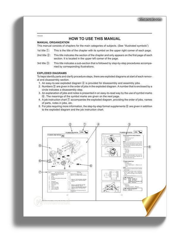 Yamaha T135 Service Manual Complete on