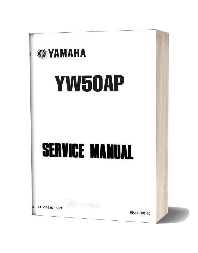 Yamaha Yw50at 2001 Service Manual