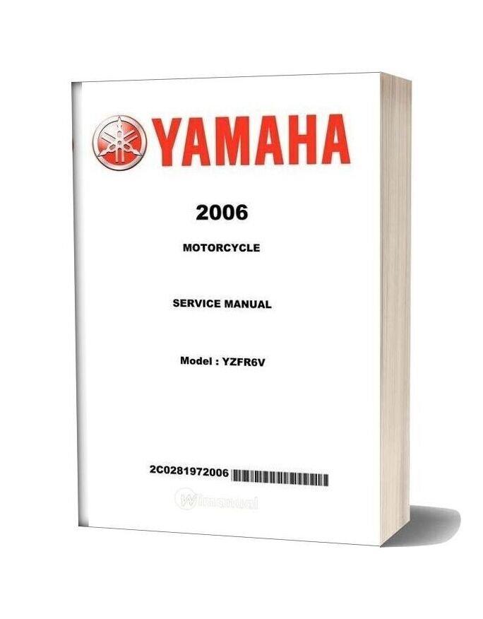 Yamaha Yzf R6 2006 Service Manual