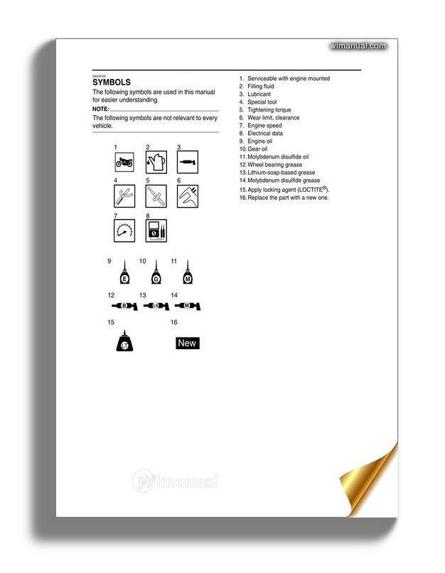 yamaha vmx1200 service manual