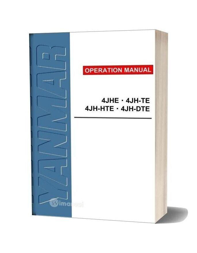 Yanmar 4jhe Service Manual