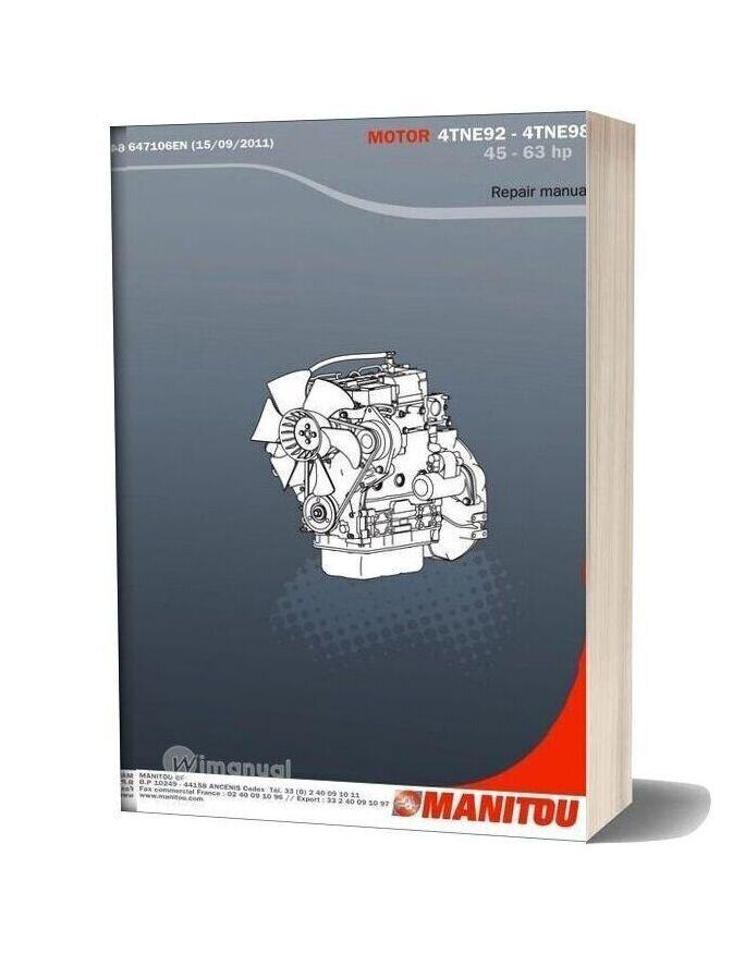 Yanmar 4tna92 98 Repair Manual