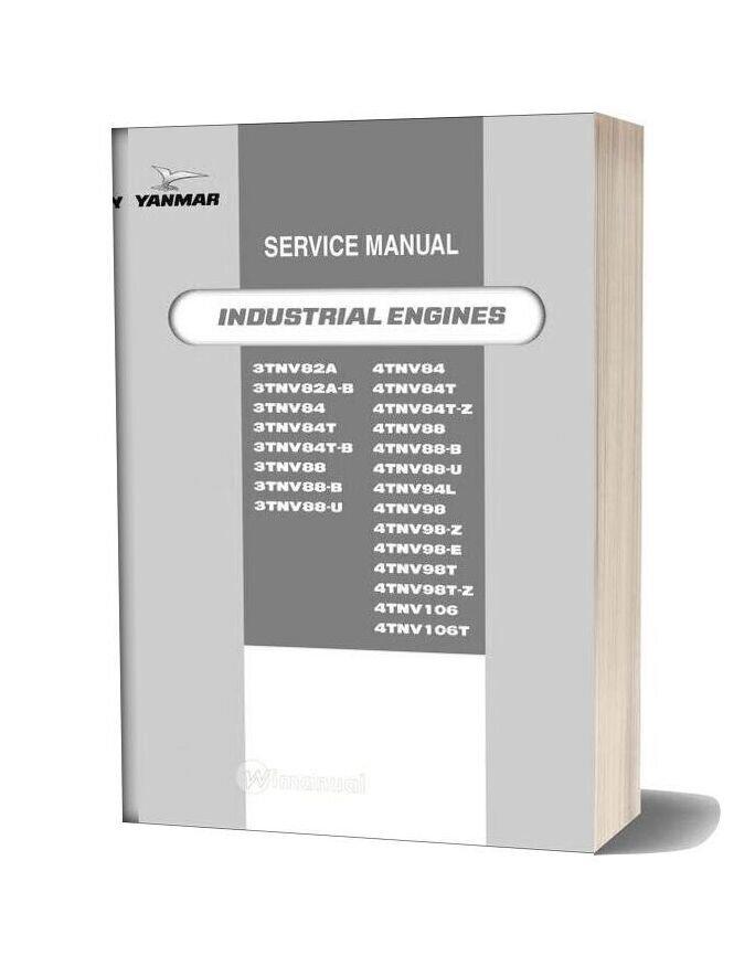Yanmar 4tnv94l Engine Service Manual