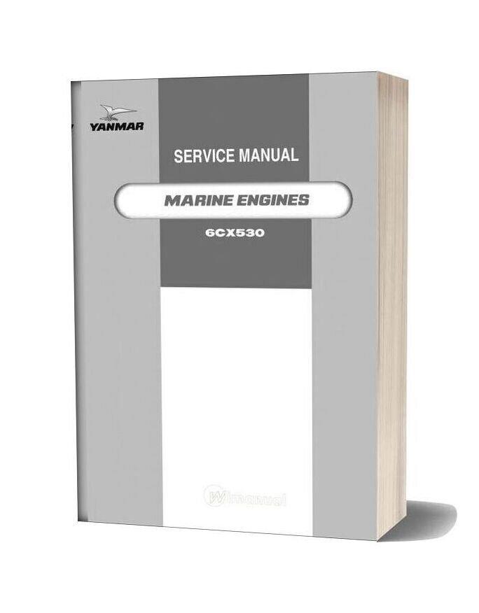 Yanmar 6cx530 Service Manual