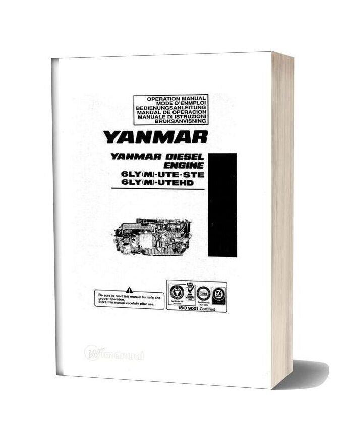 Yanmar 6ly M Ute Service Manual