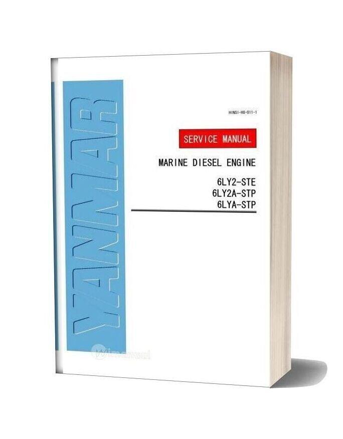 Yanmar 6ly2 6ly2a 6lya Service Manual