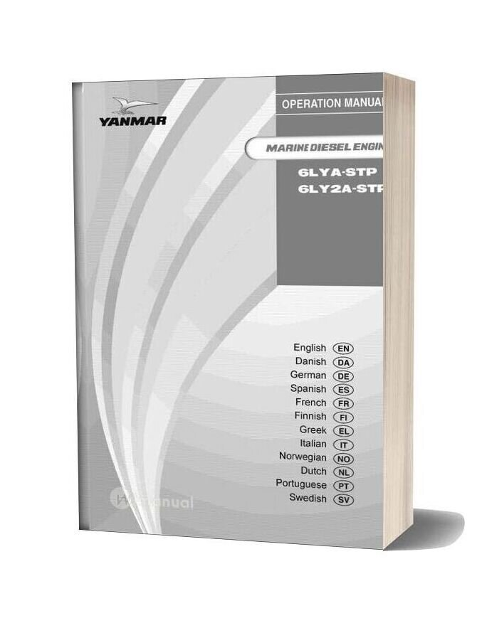 Yanmar 6lya Service Manual