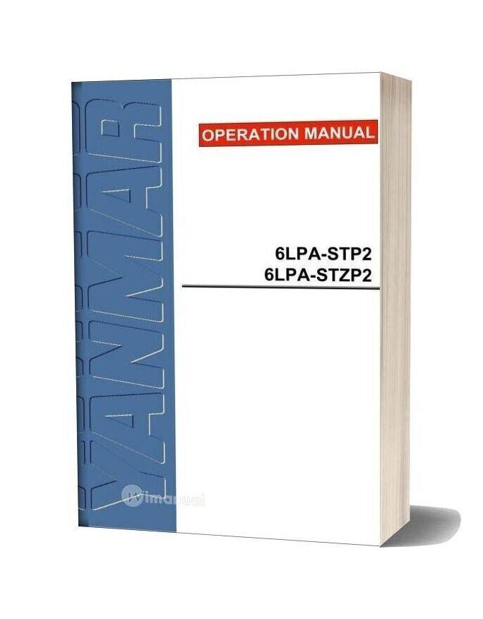 Yanmar 6pla Stp2 Service Manual