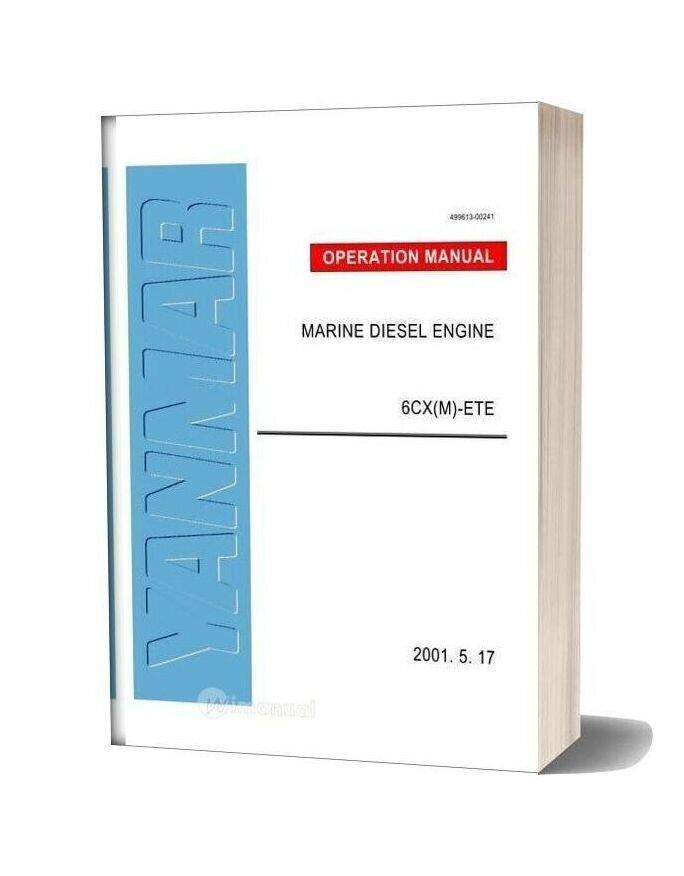 Yanmar Cx M Service Manual