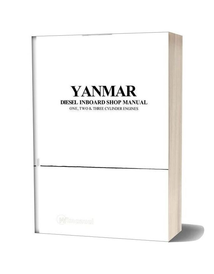 Yanmar Gm And Hm Workshop Manual