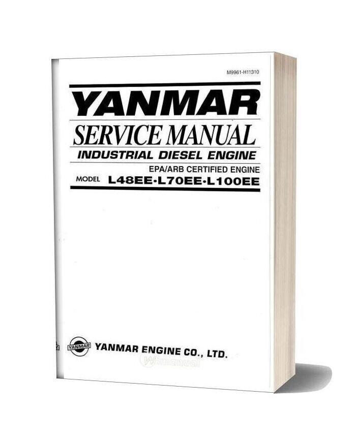 Yanmar L48 70 100ee Service Manual