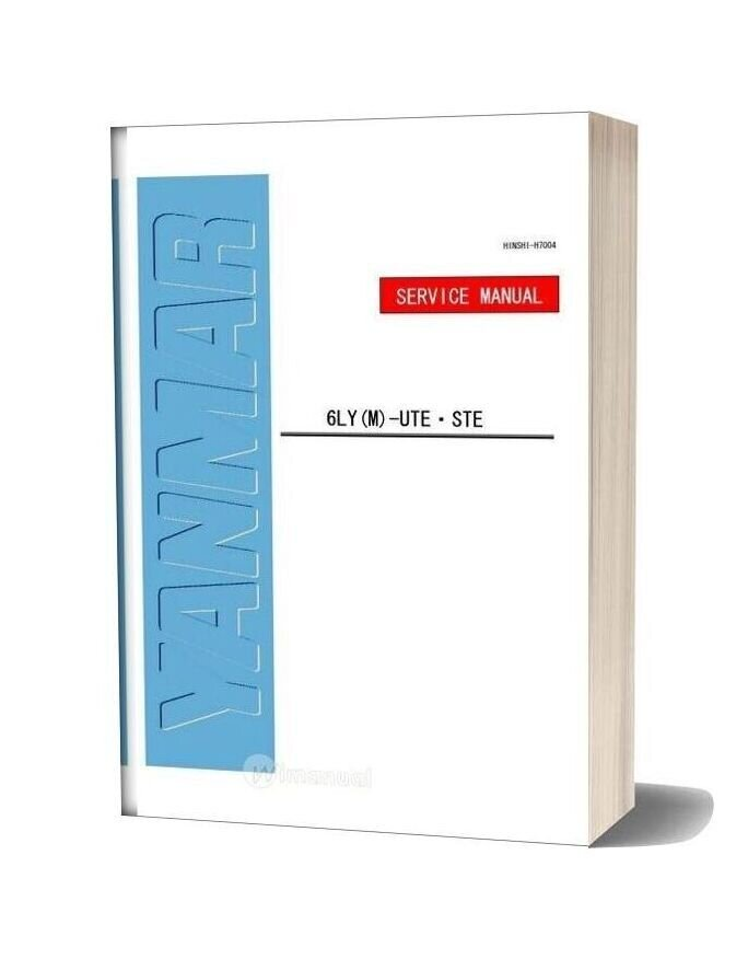 Yanmar Ly Service Manual